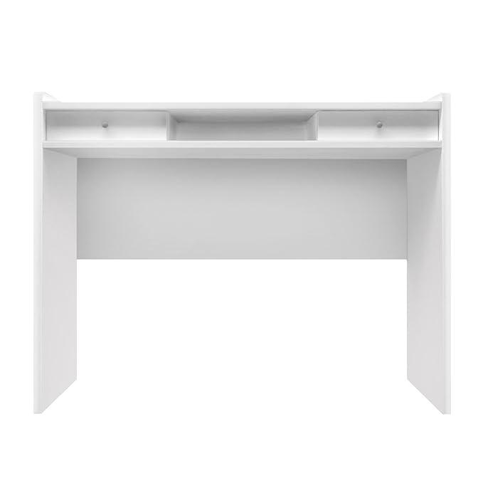 11 opinioni per Furniture 247- Scrivania moderna con 2 cassetti a scomparsa per