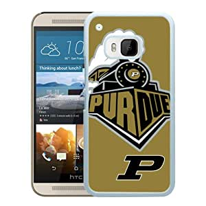 NCAA Purdue Boilermakers 4 White Customize HTC ONE M9 Phone Cover Case