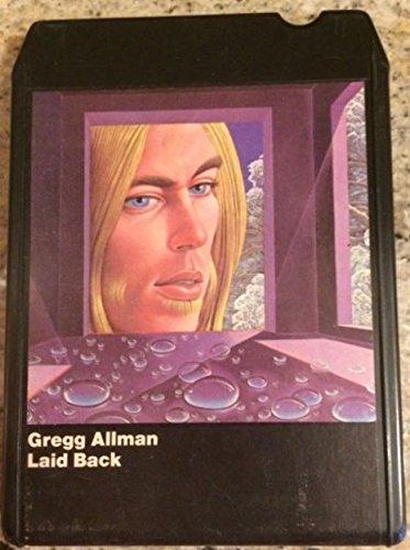 """Laid Back"" Vintage 8 Track Tape -  Gregg Allman, Audio Cassette"