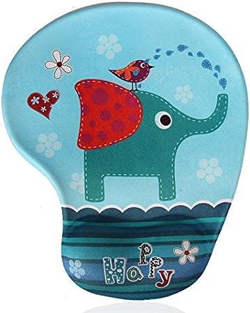 Cute Cartoon Mouse Pad Famixyal hwsbdlongmao Creative Wrist-Protected Wristbands for Personalized Desk Decoration