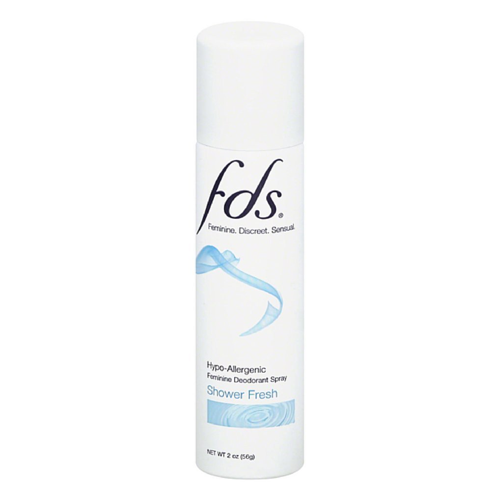 FDS Spray, Shower Fresh, 2Ounces (Pack of 12)