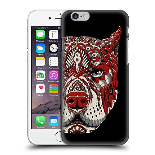 Officiel Bioworkz Pitbull 1 Chien Coloré 1 Étui Coque D'Arrière Rigide Pour Apple iPhone 6 / 6s