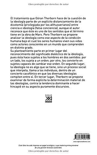 La ideología del poder y el poder de la ideología Siglo XXI de España General: Amazon.es: Göran Therborn, Eduardo Terrén: Libros