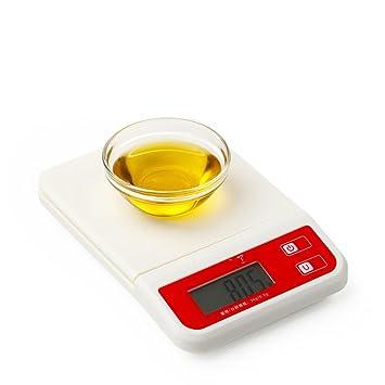 Kitchen Scale Balanzas electrónicas de Cocina Mini balanzas de Plataforma balanzas de Alimentos Utensilios de Cocina