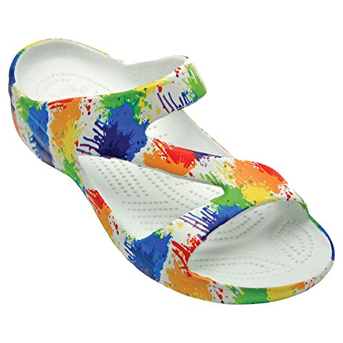 DAWGS Women's Arch Support Loudmouth Z, Drop Cloth, 10 M US