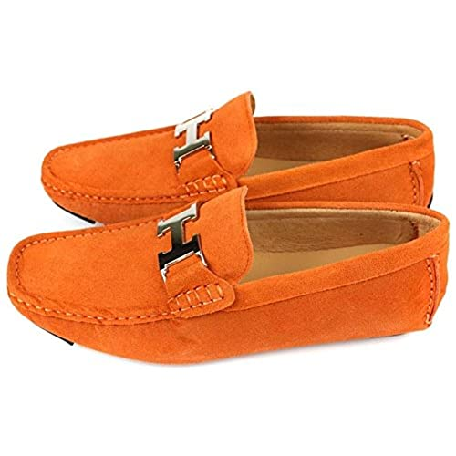 46428ee140c Santimon Mens Penny-loafers Slip-on Casual Buckle Driving Car Shoes Moc  Shoes 85