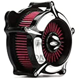 Turbine Black Edge Cut harley Air Cleaner street glide air filter harley road king air Intake system For Harley Touring parts 2008-2016