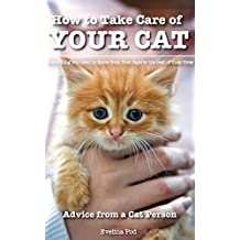 Cat: Cats: Kittens: How to Take Care of Your Cat: Advice from a Cat Person: Everything You Need to Know from First Days to the Rest of Their Lives