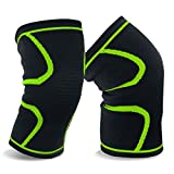 Product review for Evaric Knee Brace Compression Sleeves Support for Running, Jogging, Crossfit,Joint Pain and Arthritis Relief,Injury Recovery,Improve Circulation,Basketball and More Sports