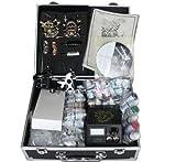 Professional 4 Machine Guns Tattoo Kit LCD Digital Power Supply Needle 30 Color 10ml Inks (G6)