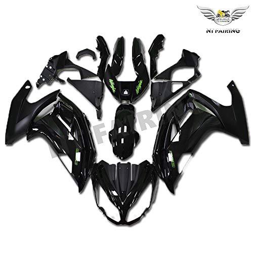 New Black Green Fairing Fit for KAWASAKI NINJA 2012-2016 650R ER-6F ABS Plastics Aftermarket Bodywork Bodyframe Kit Set 2013 2014 2015 12 13 14 15 16