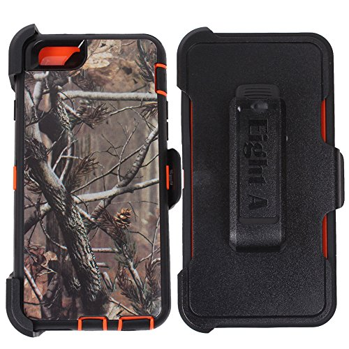 iPhone Defender Impact Protector Orange Tree Camo product image