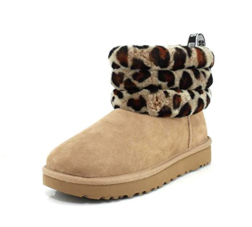 Kids leopard print bailey bow Uggs