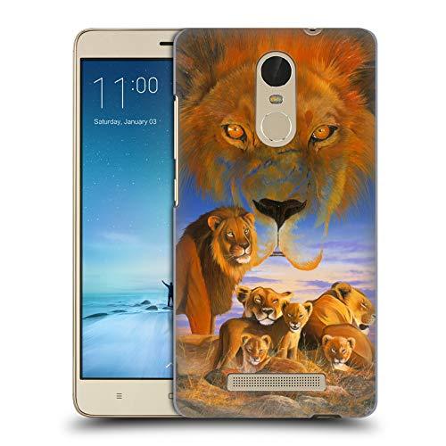 Official Graeme Stevenson Lions Wildlife Hard Back Case Compatible for Xiaomi Redmi Note 3 / Pro