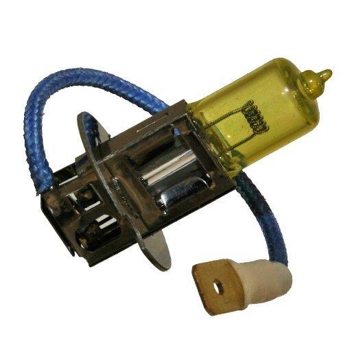 2x H3 YELLOW 12V 55W SUPER-GELB Nebelscheinwerfer Birnen Lampen Fog Light Pk22s Neu Otto-Harvest B