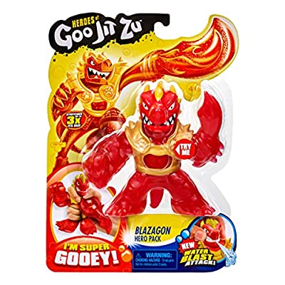 Heroes of Goo Jit Zu-Blazagon and Thrash Hero Pack: Toys & Games