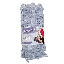 Huggalugs Silver Sparkle Ruffle *Leg/Arm Warmers* Babies/Kids