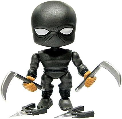 Teenage Mutant Ninja Turtles Wave 1 Foot Ninja 3-Inch 1/96 Vinyl Mini Figure [Black Loose]