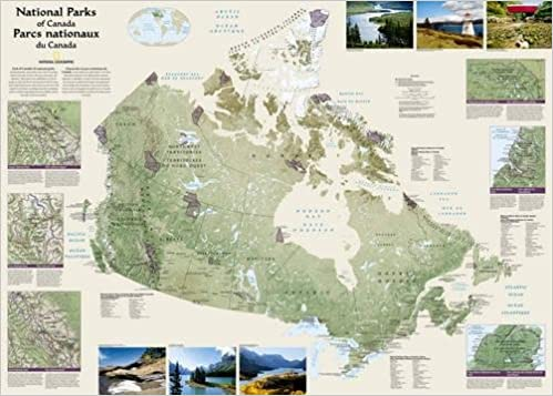 Canada National Parks Folded And Polybagged National