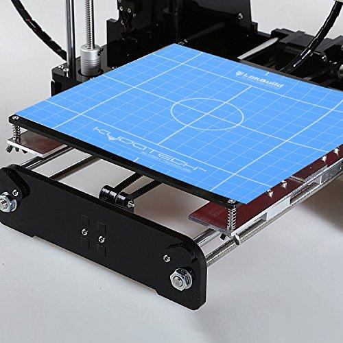 LokBuild 3D Print Build Surface, sticky back sheet, quick, clean removal of printed parts, versatile (SINGLE PACK 12'' by LOKBUILD (Image #2)