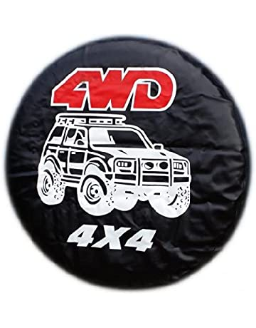 Drew Tours Camo Wolf Universal Spare Tire Cover Wheel 15inch for Trailer RV SUV Truck Travel Trailer Accessories Vehicle Car