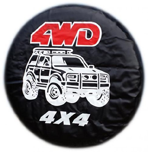 WHEEL COVER WHEELCOVER SPARE TYRE TIRE 4X4 4WD FOR ALL SIZES BargainworldUK