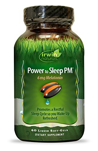 Irwin Naturals Power To Sleep PM Melatonin Supplement, 60 Count by Irwin Naturals (Image #2)'