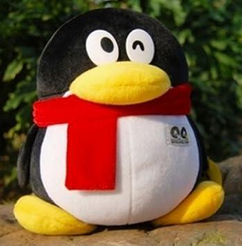 Amazon com : Backhomeday 25cm Tencent QQ Penguin Plush Toys Birthday