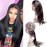 Maxine Hair Brazilian Lace Front Wigs Virgin Human Hair Glueless 360 Lace Frontal Human Hair Wigs With Baby Hair For Black Women 22inch Lace Wigs Pre Plucked