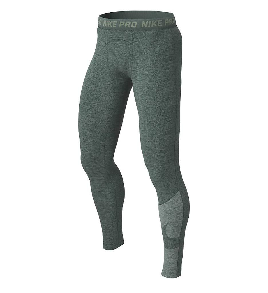 Nike PRO Hbr 2 Tights da Uomo, Uomo, AJ8871-344, Mineral Spruce Sequoia, XL