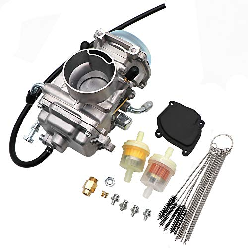 Polaris Atv Carburetor - KIPA Carburetor For Polaris Sportsman 500 Carburetor 4X4 ATV Quad 1996-1998 NON HO, OEM Part Number 3130754 3130665, With Fuel Filter & Carbon Dirt Jet Cleaner Tool Kit, Durable stable