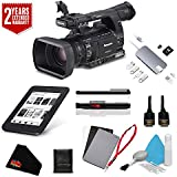 Panasonic AG-AC160A AVCCAM HD Handheld Camcorder International Version (No Manufacturer Warranty) + 2 Year Extended Warranty + Deluxe Accessory Kit