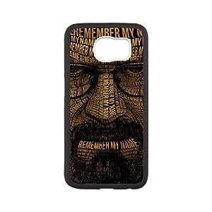 Samsung Galaxy S6 Cell Phone Black Breaking Bad 218y-021123