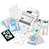 Sizzix 660341 Big Shot Plus Starter Kit, White & Gray by Sizzix