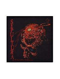 Sepultura Skull Patch Black