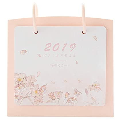 Calendario semanal planificador de escritorio 2019 Calendario de ...
