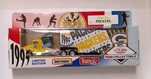 Green Bay Packers 1995 Matchbox Diecast Tractor Trailer