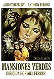 GREEN MANSIONS (Mansiones verdes) Region 2 - PAL format - Audrey Hepburn