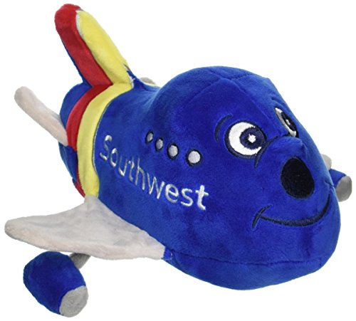 Southwest Airlines - Daron Southwest Airlines Plush Toy Airplane with Sound