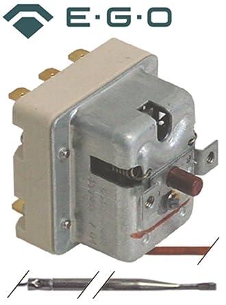 Seguridad Termostato EGO Tipo 55.32562.808, 55.32562.805
