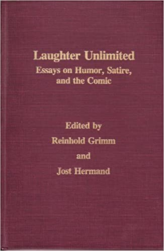 com laughter unlimited essays on humor satire and the  com laughter unlimited essays on humor satire and the comic monatshefte occasional volumes 9780299970734 reinhold grimm jost hermand books