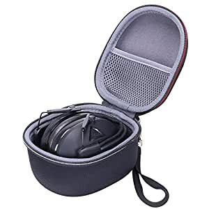 XANAD Case Compatible Peltor Sport Tactical 500 300 100 Electronic Hearing Protector Howard Leight Honeywell Electronic Shooting Earmuff Carrying Bag
