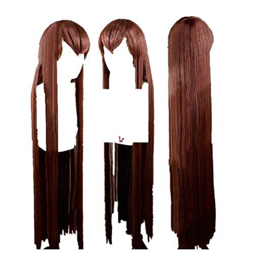 [Steins Gate Kurisu Makise cosplay costume wig] (Kurisu Makise Cosplay Costume)