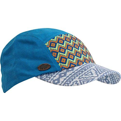 each Baja, Lightweight Cotton Southwest Print Ball Cap, Ocean (Lightweight Print Cap)