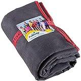 NABAIJI Ultra Compact Microfibre Quick Dry Towel (80x130 cm, Grey)