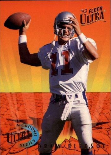 -Rookies Football Rookie Card #3 Drew Bledsoe Mint ()