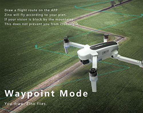 Dearprias Zino H117S Quadcopter Drone 4K Camera GPS WiFi FPV Waypoint 3 Axis Gimbal (White) by Dearprias (Image #4)