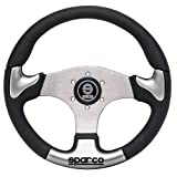 Sparco 015THPUGR345 Steering Wheel P 222 Silver by Sparco