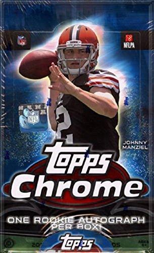 (2014 Topps Chrome Football box (HOBBY 24 pk))