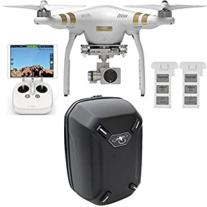 DJI Phantom 3 Professional Quadcopter with 4K Camera, 3-Axis Gimbal,...